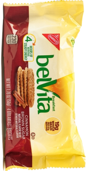 Belvita Breakfast Biscuit Cinnamon Brown Sugar 1.76 oz