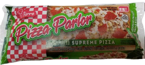 Pierre Pizza Parlor French Bread Supreme Pizza