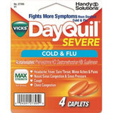 Dayquil severe cold & Flu, 4 caplets