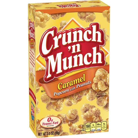 SOLD OUT Crunch 'n Munch Caramel Popcorn & Peanuts 3.5 oz