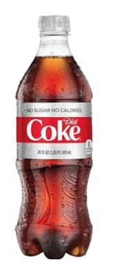 Diet Coke Bottle 20 oz