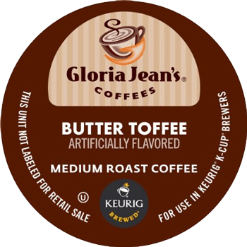 SOLD OUT Gloria Jeans Butter Toffee K-Cup Single