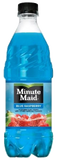 Minute Maid Blue Raspberry 20 oz