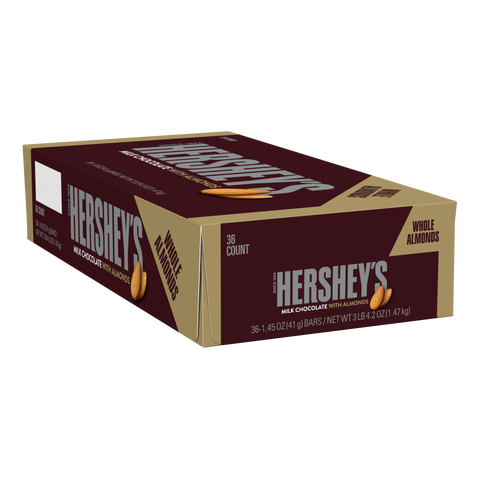Hershey Almond Box 1.45 oz 36 Count
