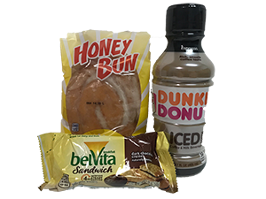 Honey Bun Morning Refreshment Pack