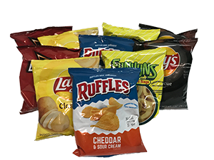 Frito Lay 1oz Variety Chip Pack 10ct