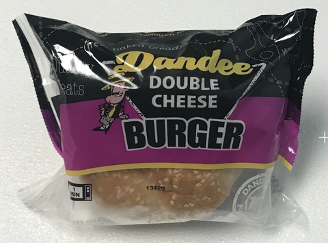 Dandee Double Cheeseburger
