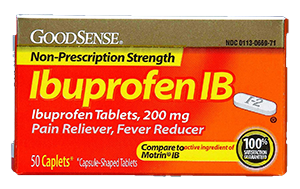 GoodSense Ibuprofen Tablets 200mg 24ct