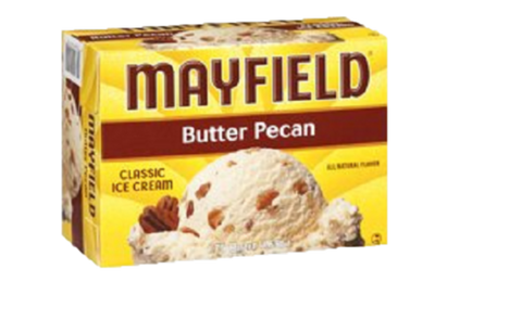Mayfield Butter Pecan Ice Cream 56 oz