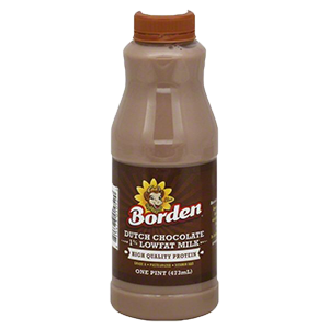 Borden Dutch Chocolate Milk Pint