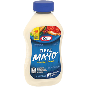 SOLD OUT Kraft Real Mayonaise Squeeze Bottle 12oz