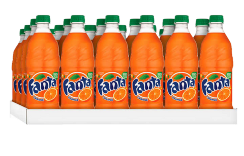 Fanta Orange Bottle 24 Count