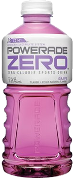 Powerade Zero Grape Bottle 20 oz