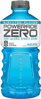 Powerade Zero Mixed Berry Bottle 20 oz