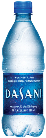 Dasani Water Bottle 20 oz