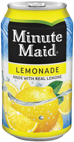 SOLD OUT Minute Maid Lemonade Can 12 oz