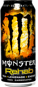 Monster Rehab Tea + Lemonade Can 16 oz