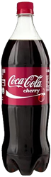 Cherry Coke Bottle 20 oz