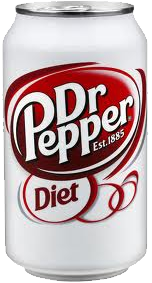 Diet Dr. Pepper Can 12 oz