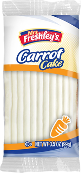 Mrs. Freshley's Carrot Cake FOA 3.5 oz