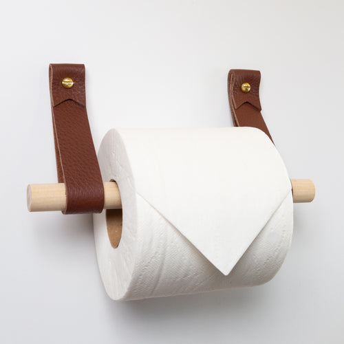 Toilet Paper Holder Kit [Flag End]