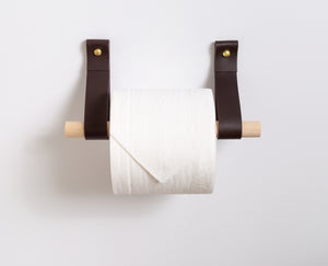 Toilet Paper Holder Kit [Flat End]