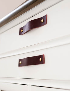 Leather Drawer Handle