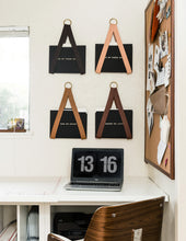 Load image into Gallery viewer, Leather File / Vinyl Record Holder