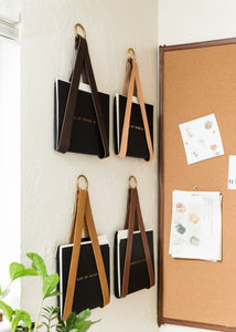 Leather File / Vinyl Record Holder