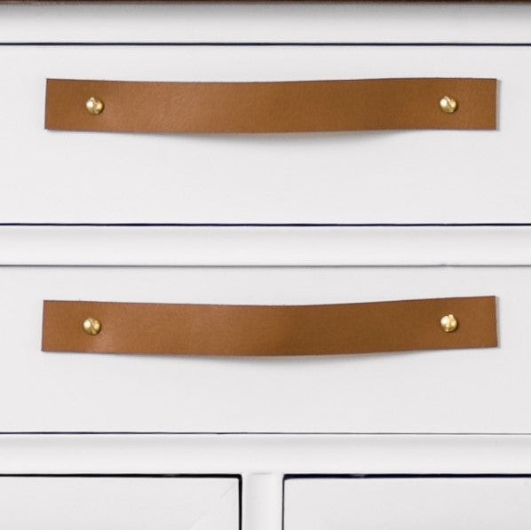 Leather Handle [Flat End] 1