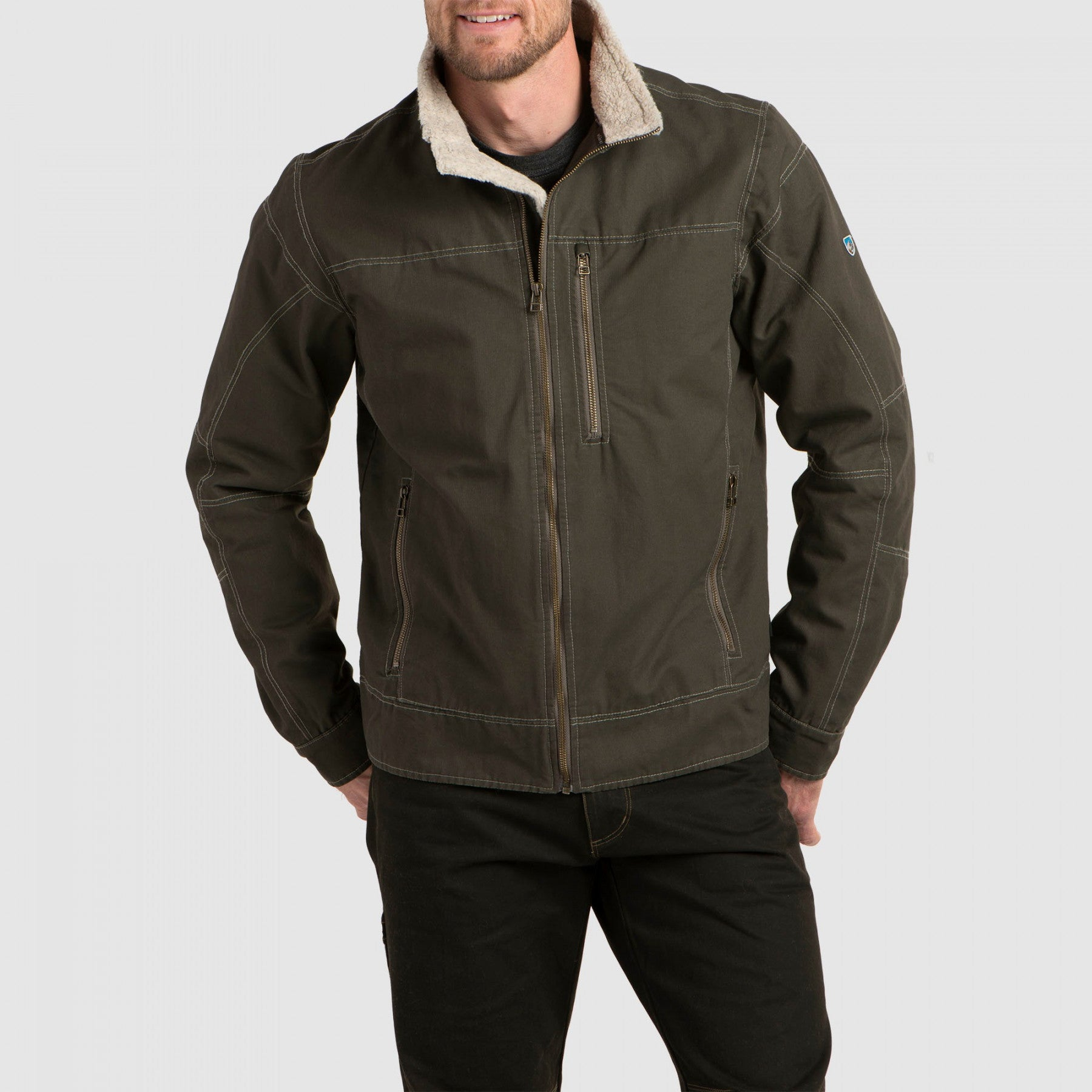 Kuhl Burr Jacket Gunmetal