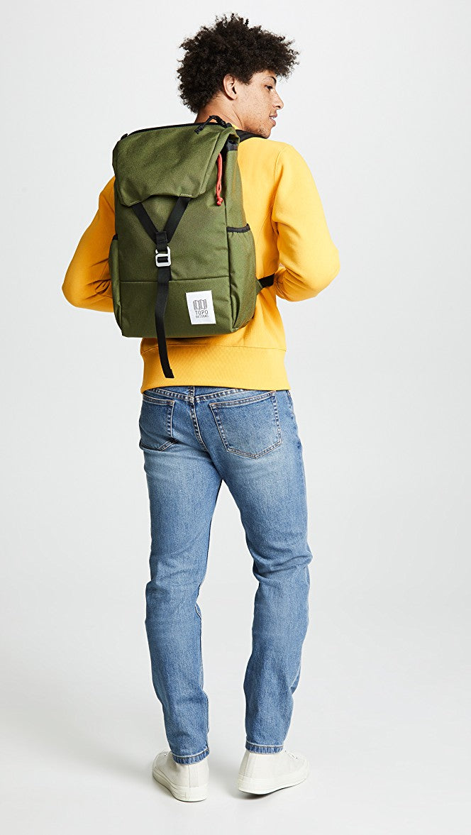 Topo Y Pack Olive