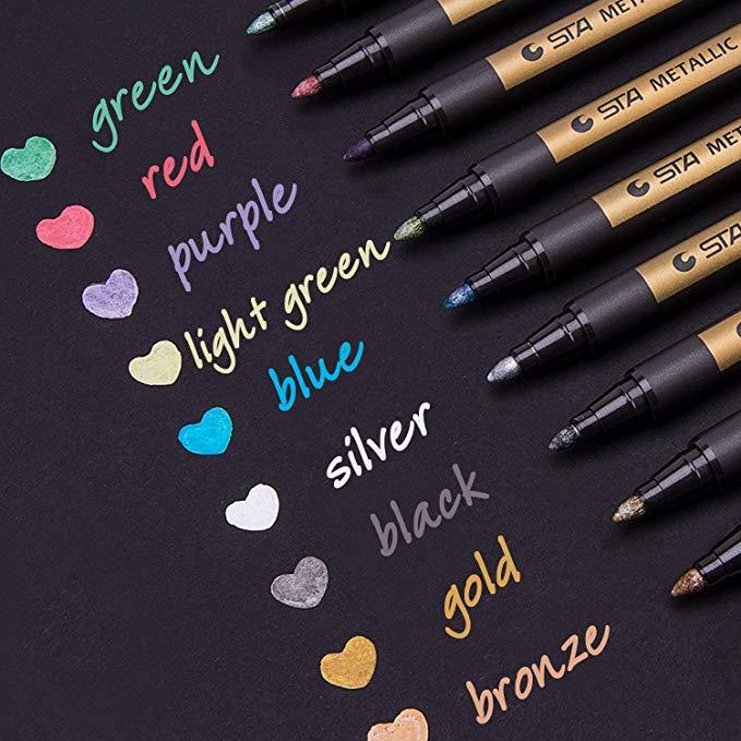 Magic Golden Marker (10 Pens) - RazanArt