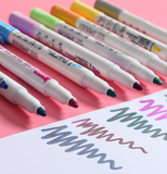 Outline Markers (8 Multi-Colors) - RazanArt