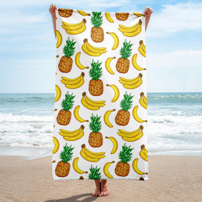 Banana Pineapple Smoothie Towel Tropical BLVD Fashion TropicalBlvd