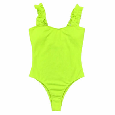 One-Piece Ruffle Swimsuit Tropical BLVD Fashion TropicalBlvd