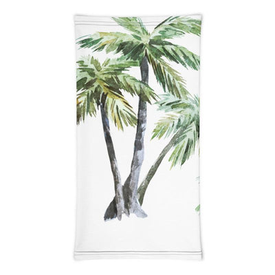 Painted Palm Trees All Over Face Mask Tropical BLVD Fashion TropicalBlvd