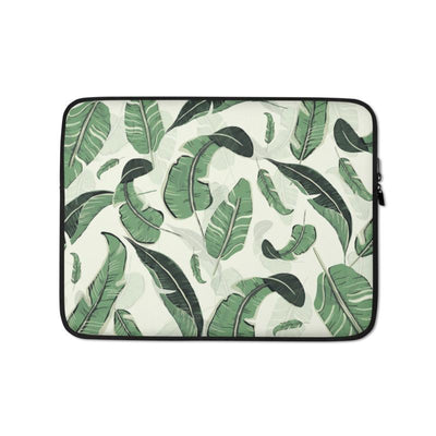 Palms In The Wind Laptop Case Tropical BLVD Fashion TropicalBlvd