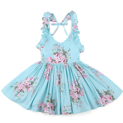 Spring Girls Dress With Hat Tropical BLVD Fashion TropicalBlvd