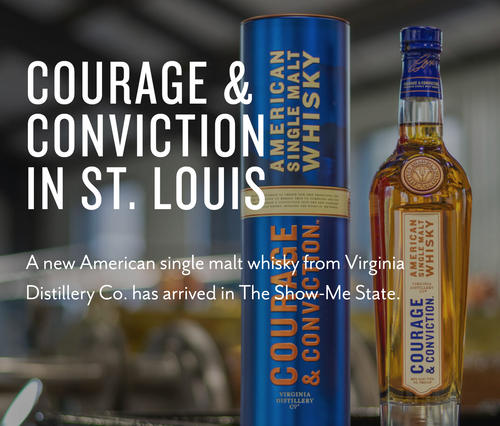 July Sample: Virginia Distillery's Courage & Conviction