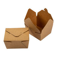 "RECYCLED PAPER CONTAINER  5""x 4.5""x 2.5"""