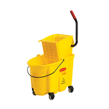 MOP BUCKET & WRINGER | SIDE PRESS