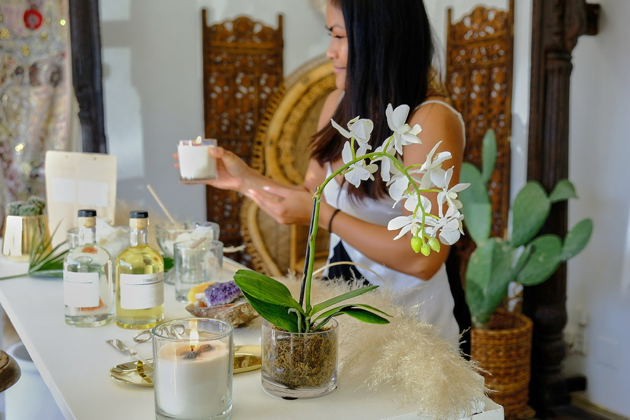 Island Tribe Energy Candle Experience