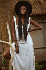 Seychelles Natural Bamboo Dress - Island Tribe