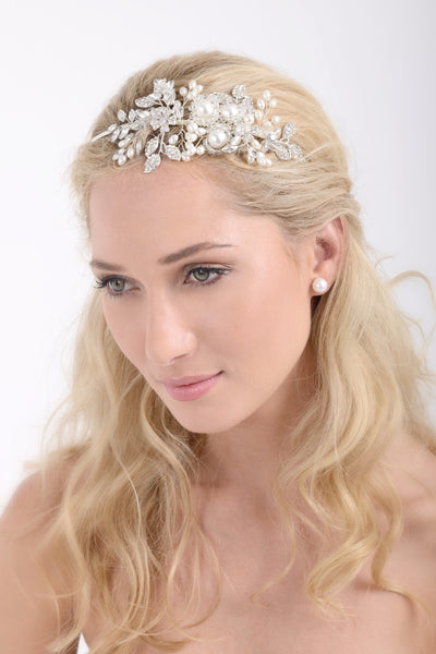 Heavenly Pearls Headpiece