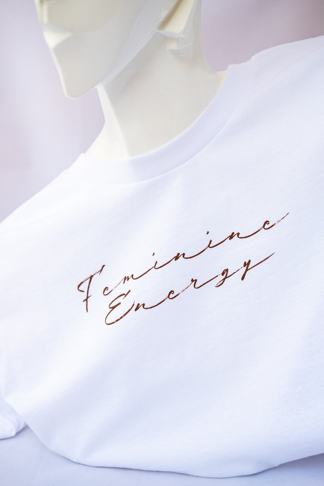Feminine Energy Cotton T-Shirt - Island Tribe
