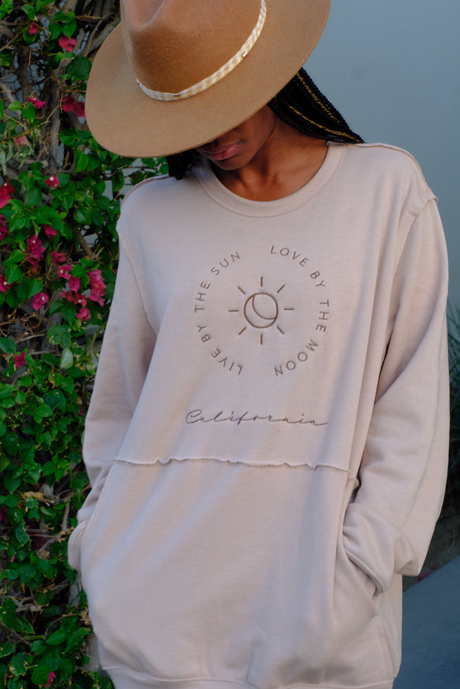 Live by Sun Sweatshirt - Island Tribe