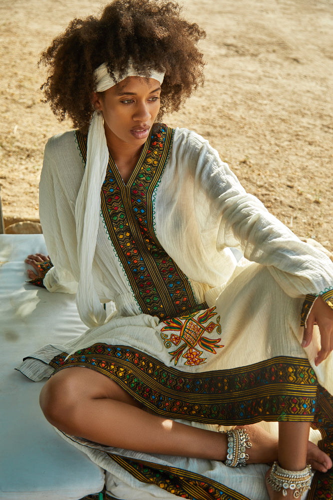 Habesha Maxi Dress