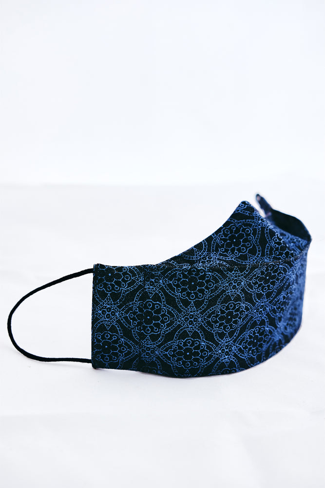 Ivy Denim Mask - Island Tribe