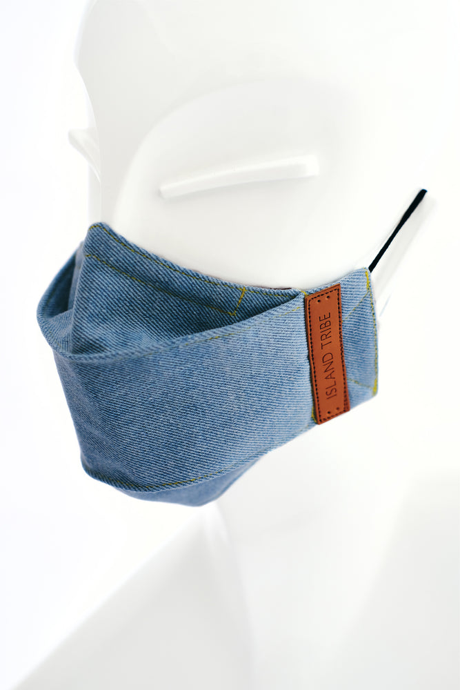 Skye Denim Mask - Island Tribe